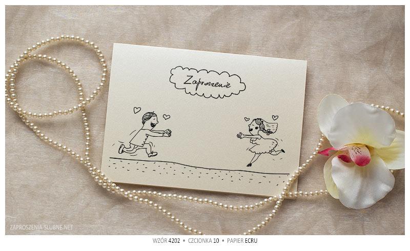 zabawne zaproszenia ślubne