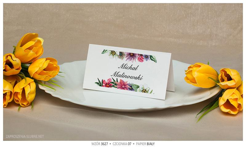 winietki kwiaty klasyczne